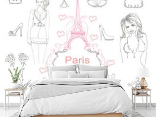 Paris doodles.