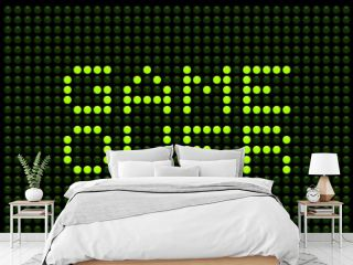 Game Over LED Board