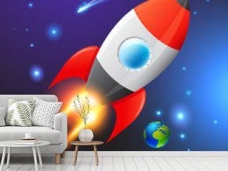 Vector Space Rocket