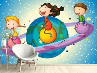 kids on planet