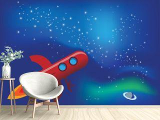 Rocket fly in Space