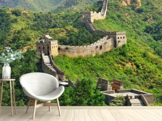 Chinese Great Wall in Summer