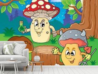 Mushroom theme image 6