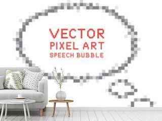 Pixel Art Speech Bubble