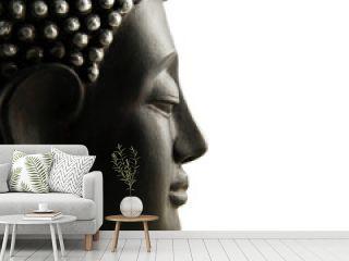 Buddha Profil isoliert