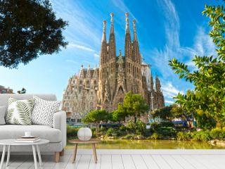 La Sagrada Familia, Barcelona, spain.