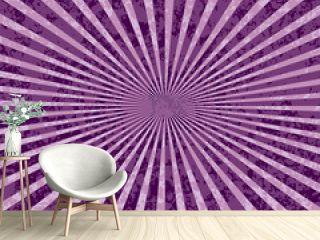 purple rays burst