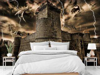 castello e draghi