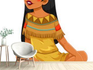 Indian native American girl