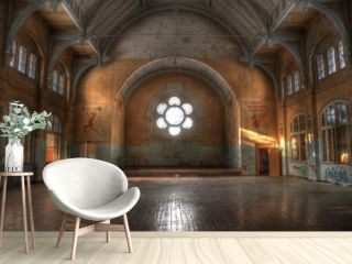 Hall in Beelitz Heilstätten