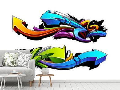 Graffiti arrows designs