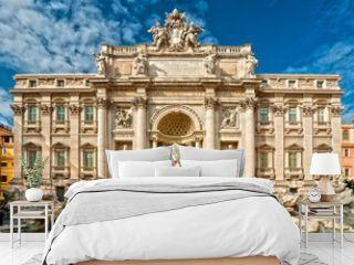 The Famous Trevi Fountain , rome, Italy.