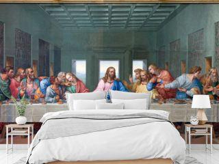 Vienna - Mosaic of Last supper - copy Leonardo da Vinci