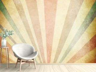 Vintage Sunbeams Background