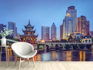 Guiyang, China at Jiaxiu Pavilion