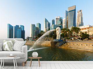 Financial district, Singapour