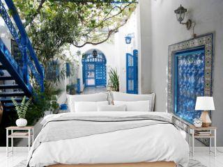 Courtyard in Sidi Bou Said