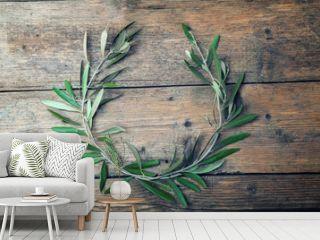 Olive tree wreath