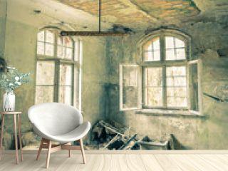 Abandoned Hospital in Beelitz near Berlin in Germany