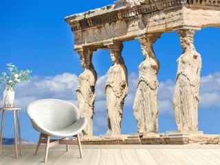 Erechtheion with the Caryatids. Athens, Greece
