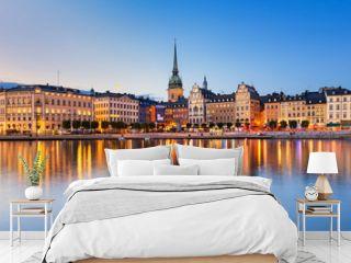 Gamla Stan at night in Stockholm