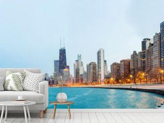 Chicago Panorama Lake Michigan