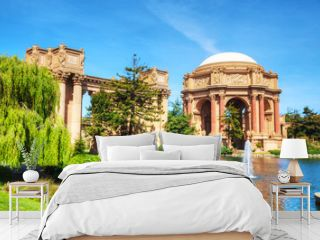 The Palace of Fine Arts in San Francisco