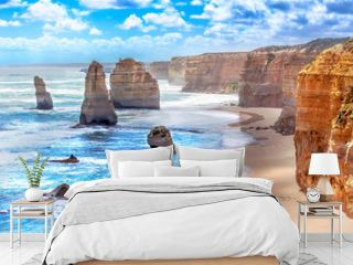 Twelve Apostles along the Great Ocean Road in Australia