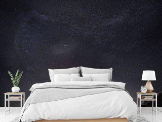 starry night sky lake landscape