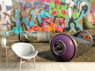 Spray Can Used For Graffiti   Stock image