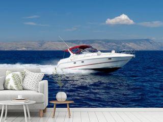 Motor speed boat
