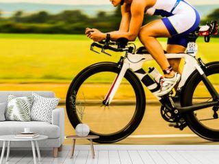 Bicycle Race Triathlon