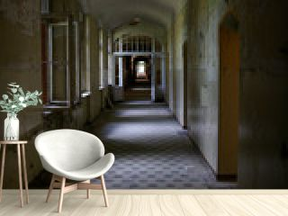 lost place old hospital Beelitz near Berlin