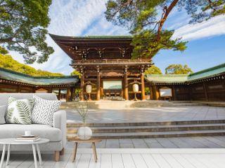 Meiji-jingu shrine in Tokyo, Japan