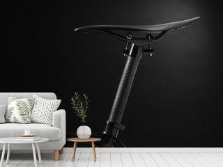 racing bike seat and frame - Stock Image