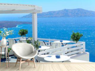 Luxury and beauty in Santorini, Greece.