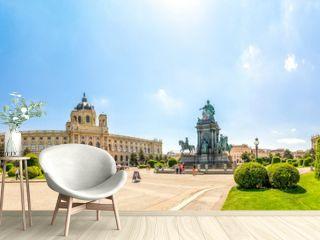 Maria Theresien Platz Panorama, Wien, Österreich,