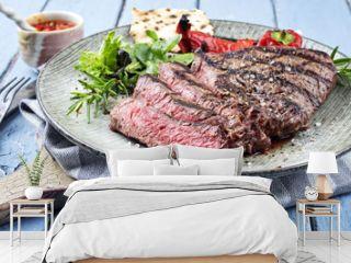 Charolais Steak auf Teller
