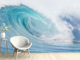 Ocean wave abstract background