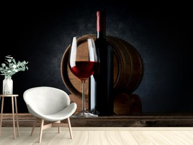 Composition with wine