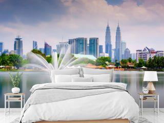 Kuala Lumpur Park Skyline