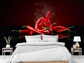 beam of red chilli pepper