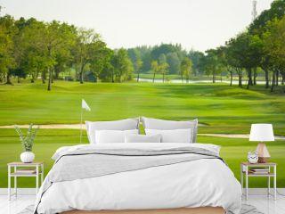 landscape view of golf course