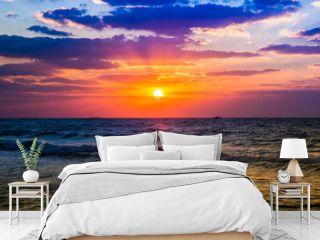 Dubai sea sunset