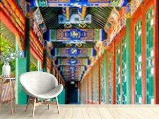 Corridor in the Summer Palace in Beijing