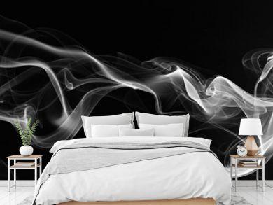abstarct smoke swirls