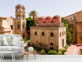 San Cataldo church in Palermo, Sicily. Italy.