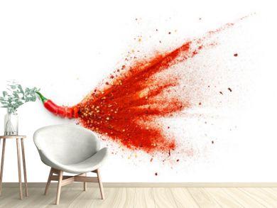 Chilli, Red Pepper Flakes and Chilli Powder