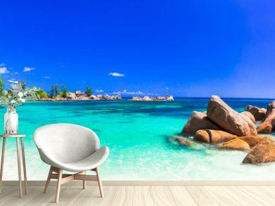 amazing tropical holidays in paradise beaches of Seychelles,Praslin