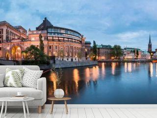 Riksdag building, Stockholm, Sweden
